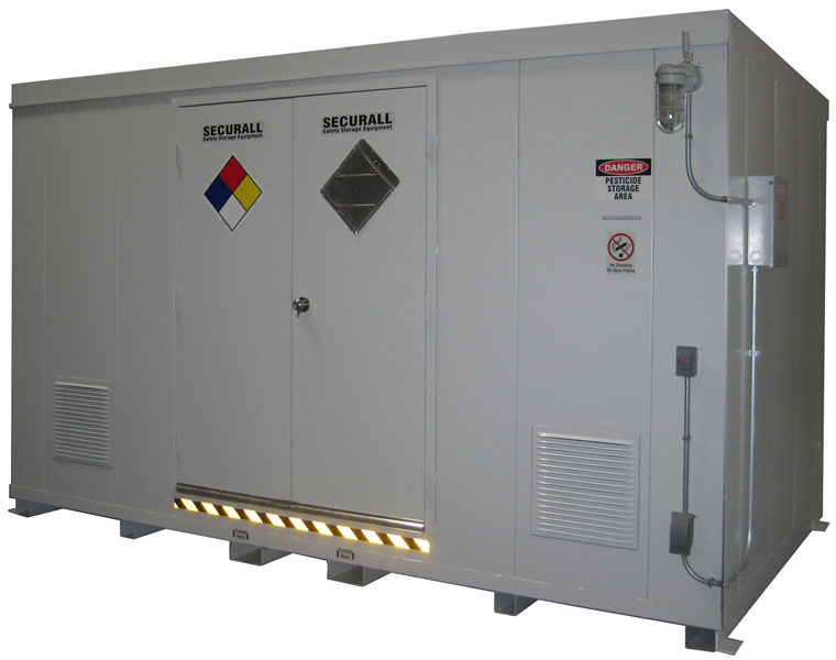 Securall 174 Safety Storage Buildings Chemical Storage