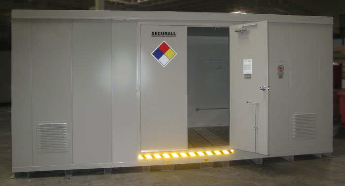 Hazmat Storage Buildings Securall Hazmat Storage Buildings