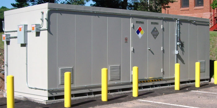 Securall Hazmat Storage Buildings Hazmat Storage Lockers Drum