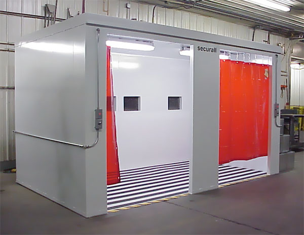 Securall modular buildings prefabricated steel buildings for Prefab room